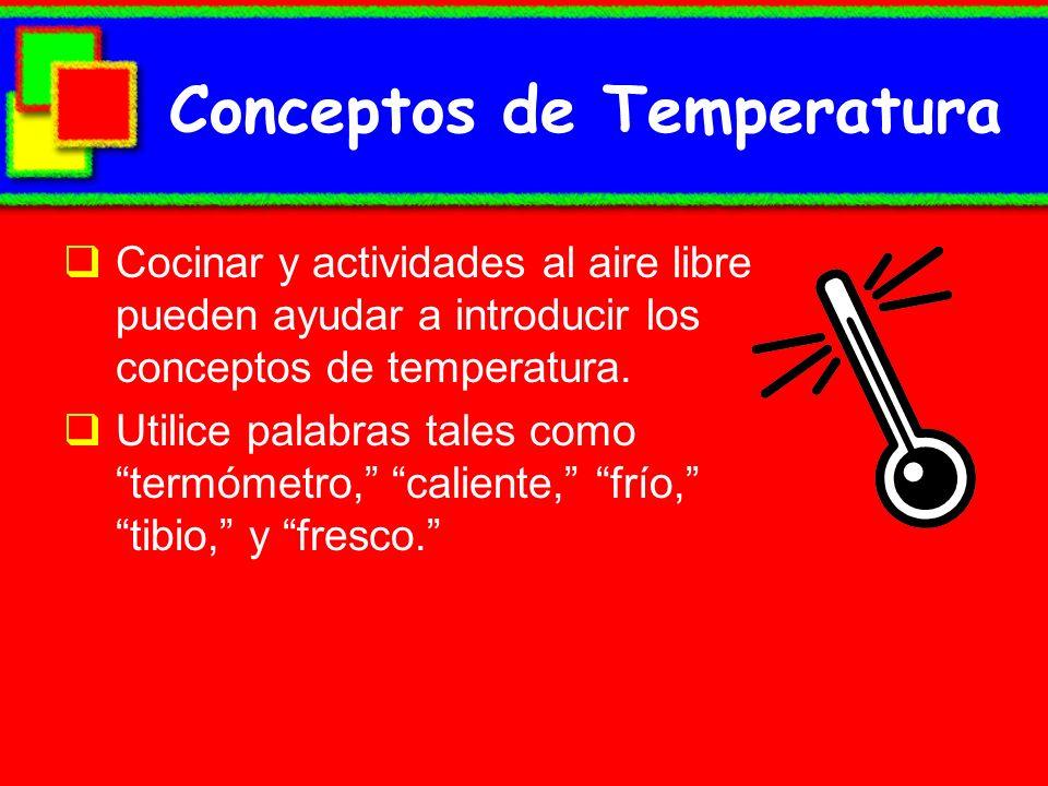 Conceptos de Temperatura