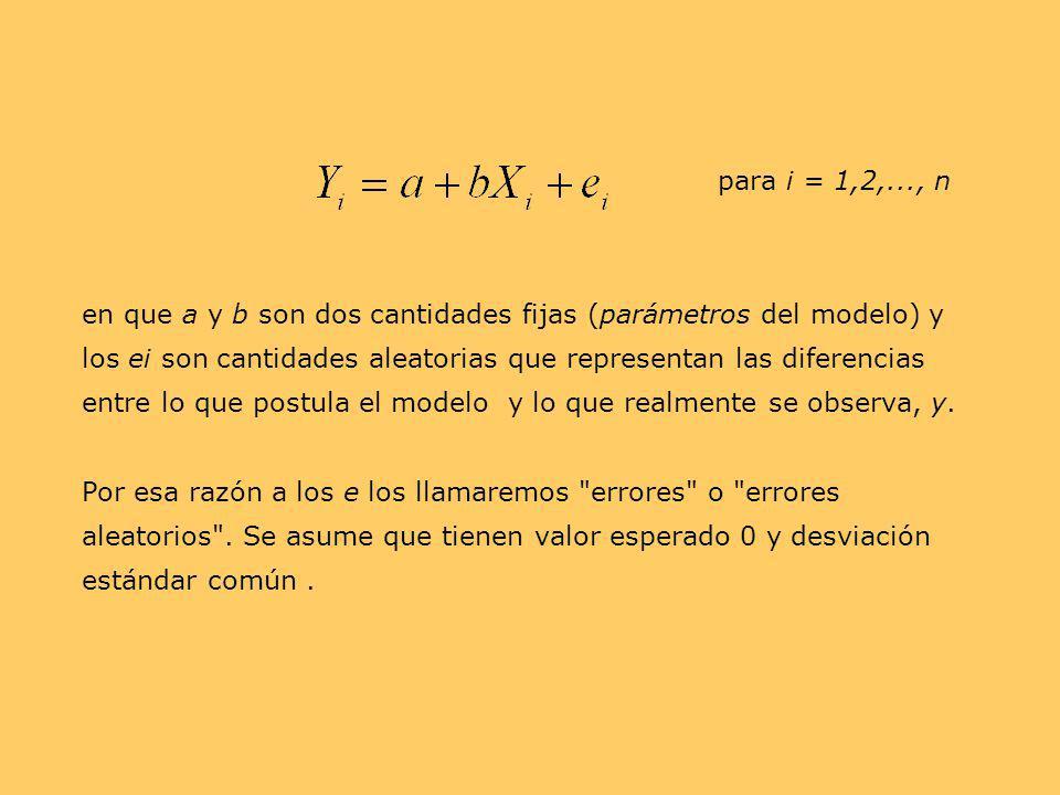 para i = 1,2,..., n