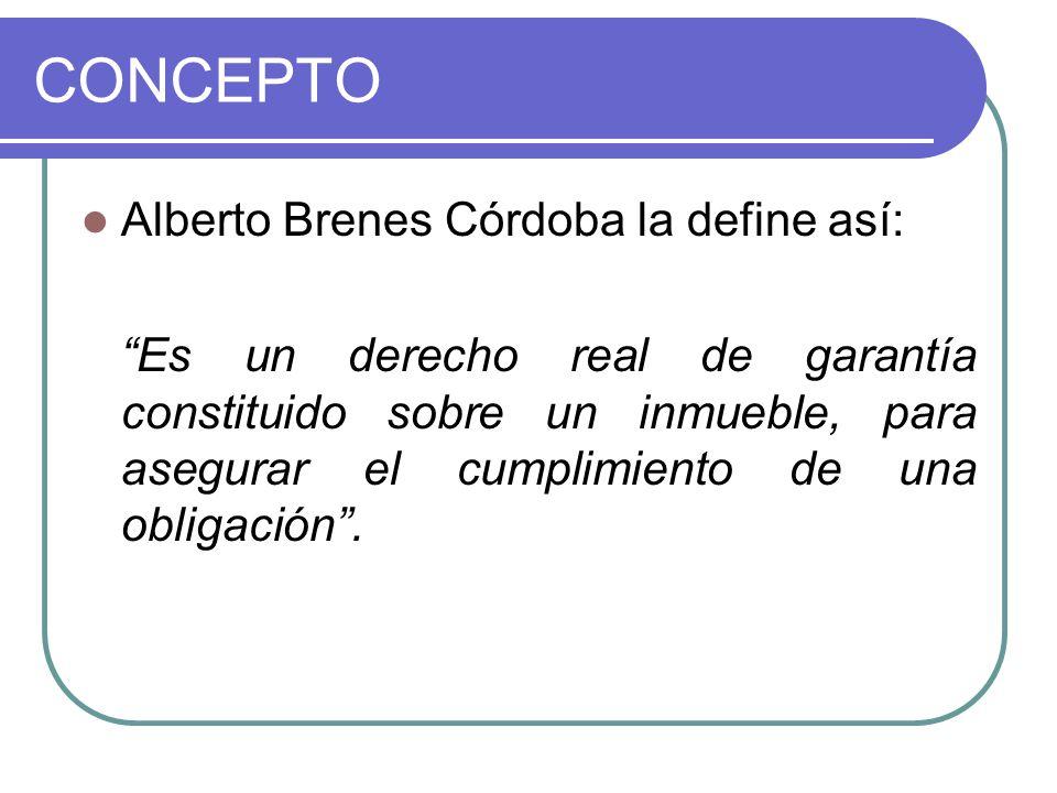 CONCEPTO Alberto Brenes Córdoba la define así: