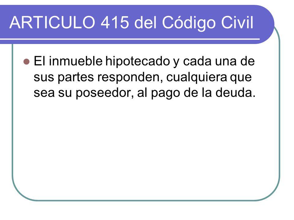 ARTICULO 415 del Código Civil