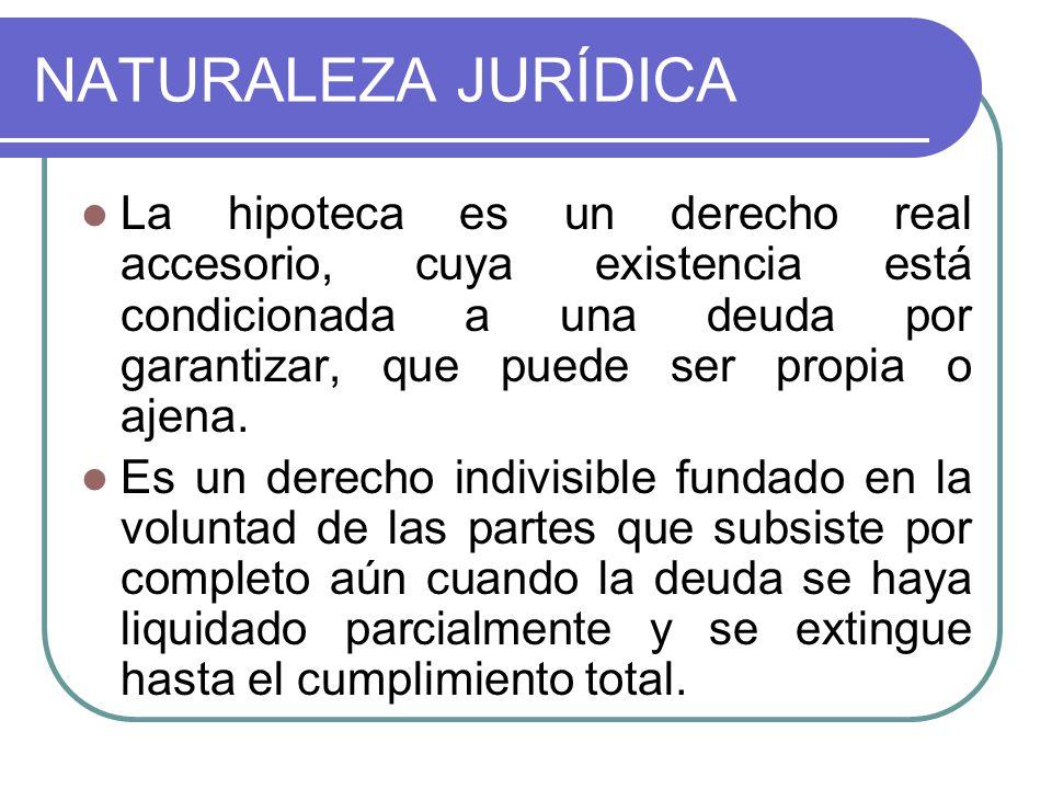 NATURALEZA JURÍDICA