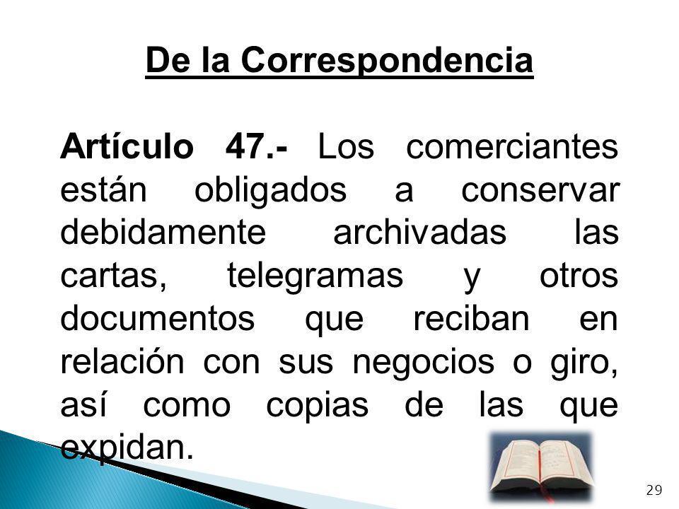 De la Correspondencia