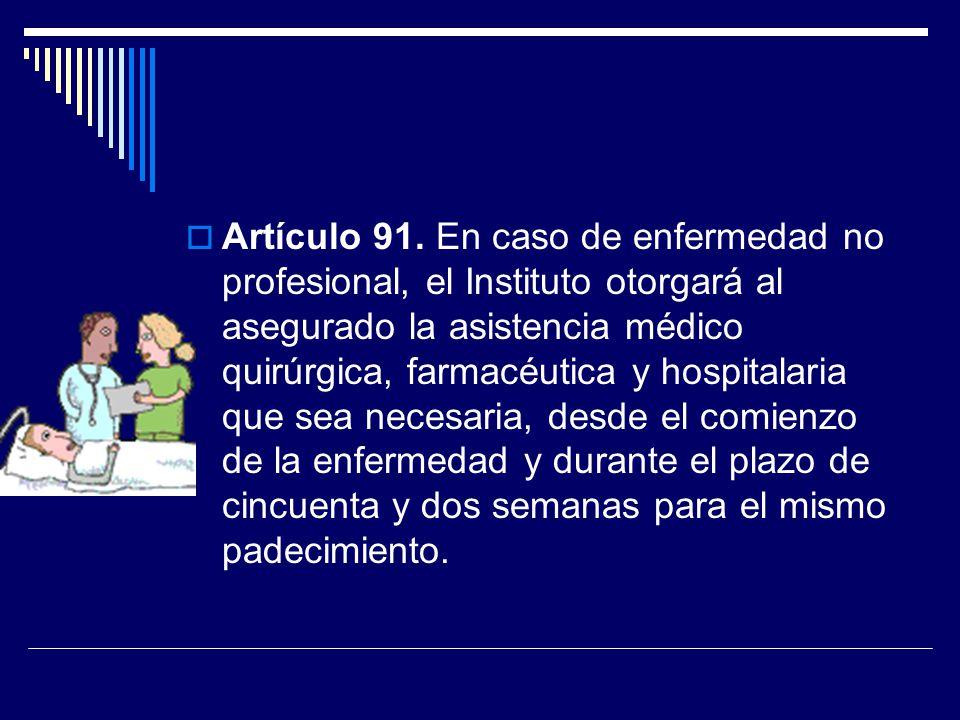 Artículo 91.