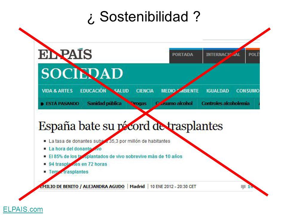 ¿ Sostenibilidad ELPAIS.com
