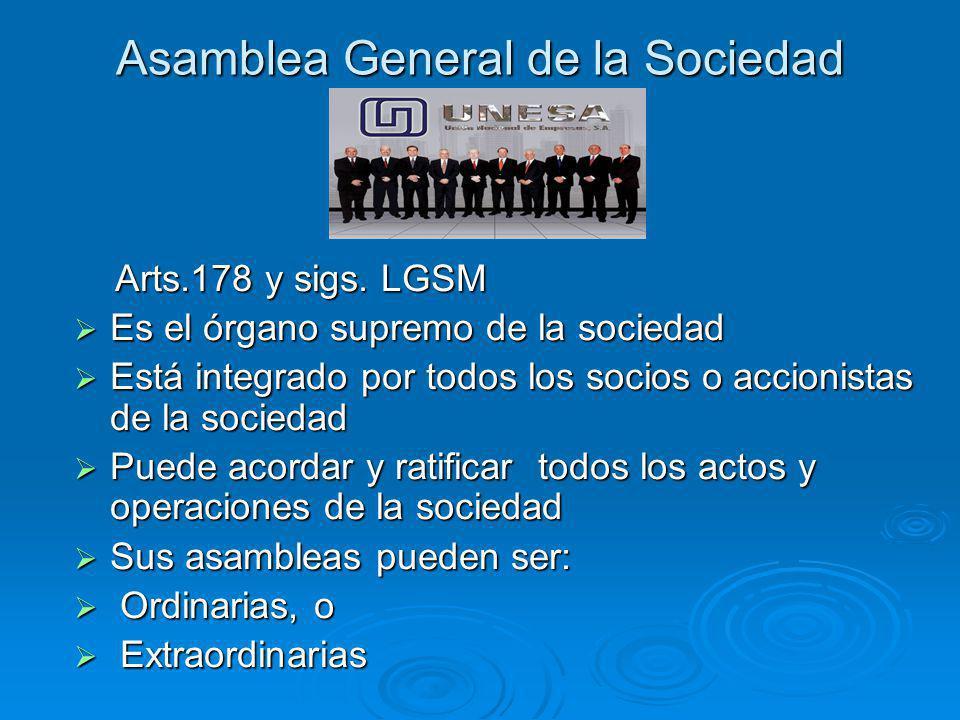 Asamblea General de la Sociedad