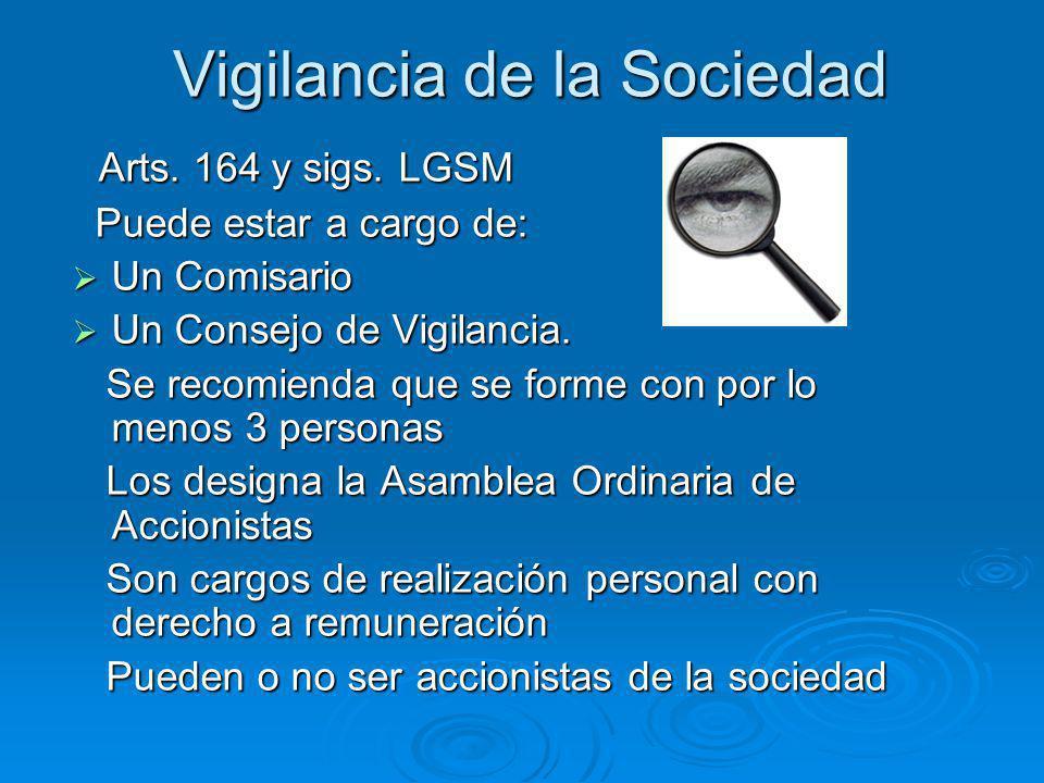 Vigilancia de la Sociedad