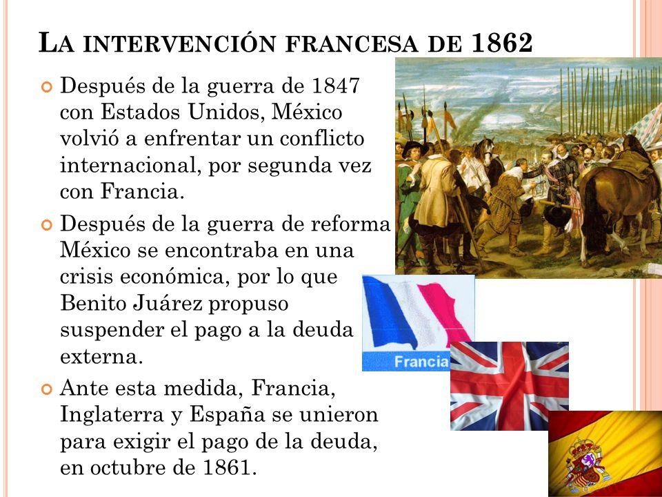 La intervención francesa de 1862
