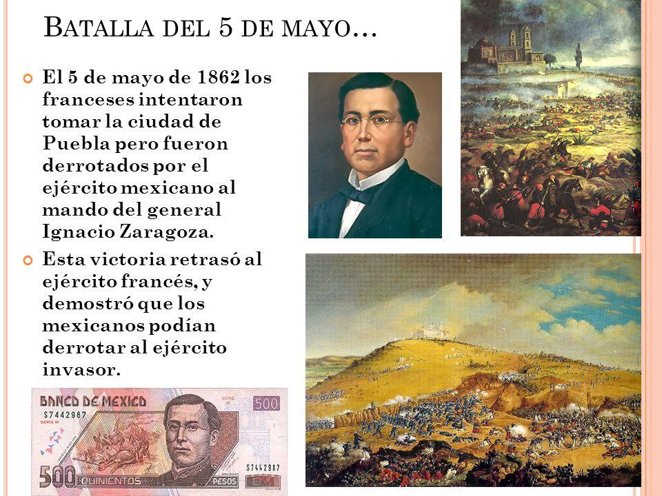 Batalla del 5 de mayo…