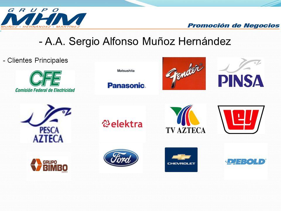 A.A. Sergio Alfonso Muñoz Hernández
