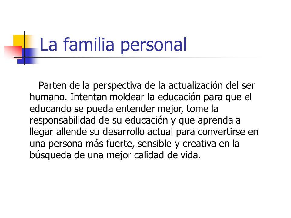 La familia personal