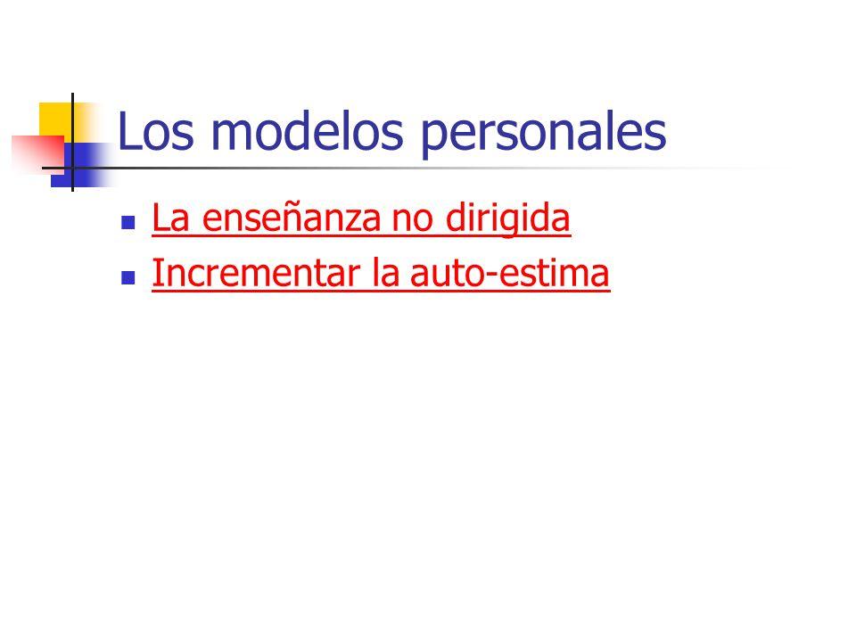 Los modelos personales