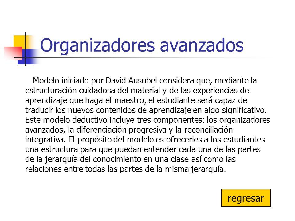 Organizadores avanzados