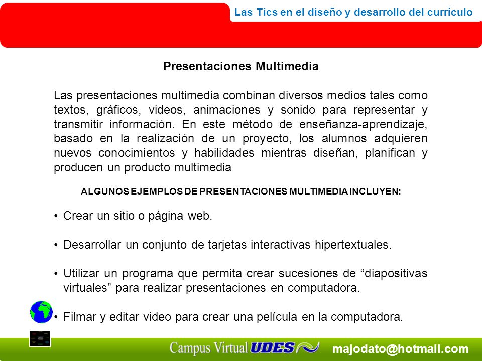 Presentaciones Multimedia