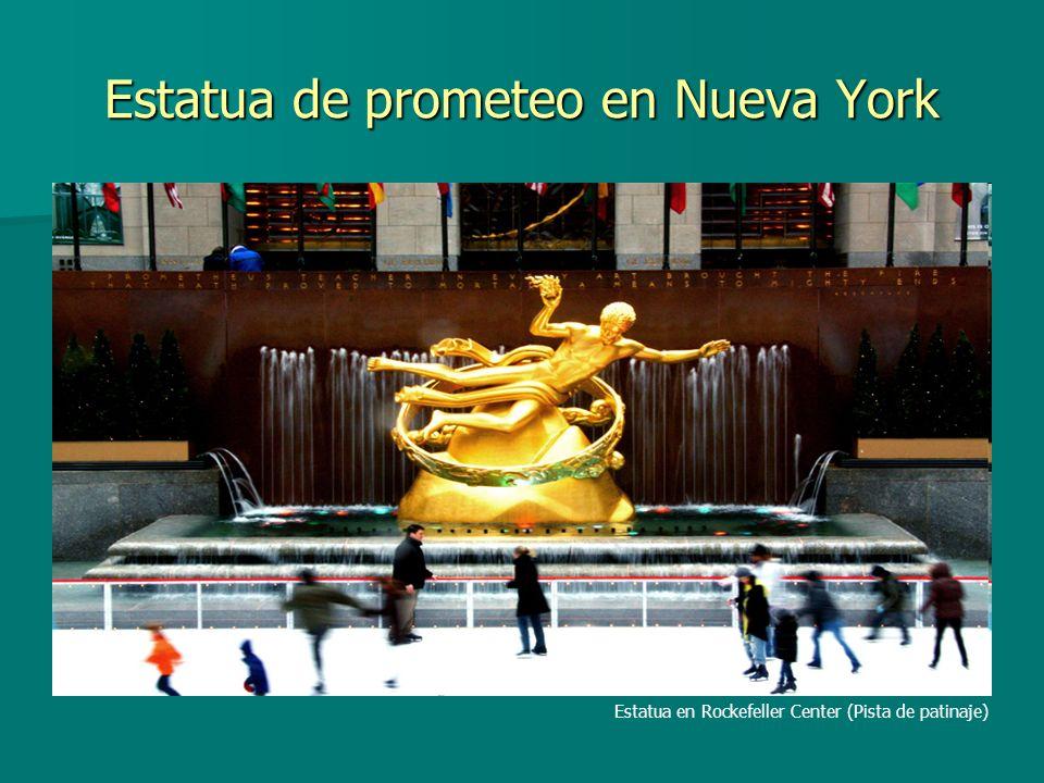 Estatua de prometeo en Nueva York