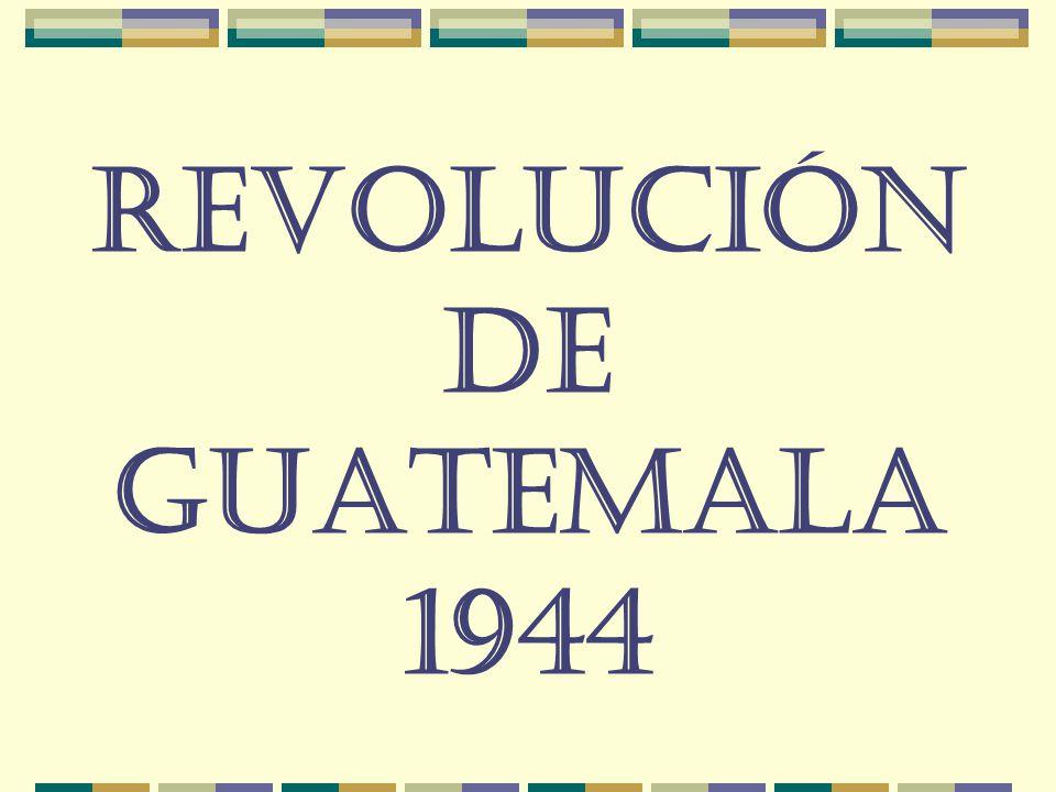 Revolución de Guatemala 1944