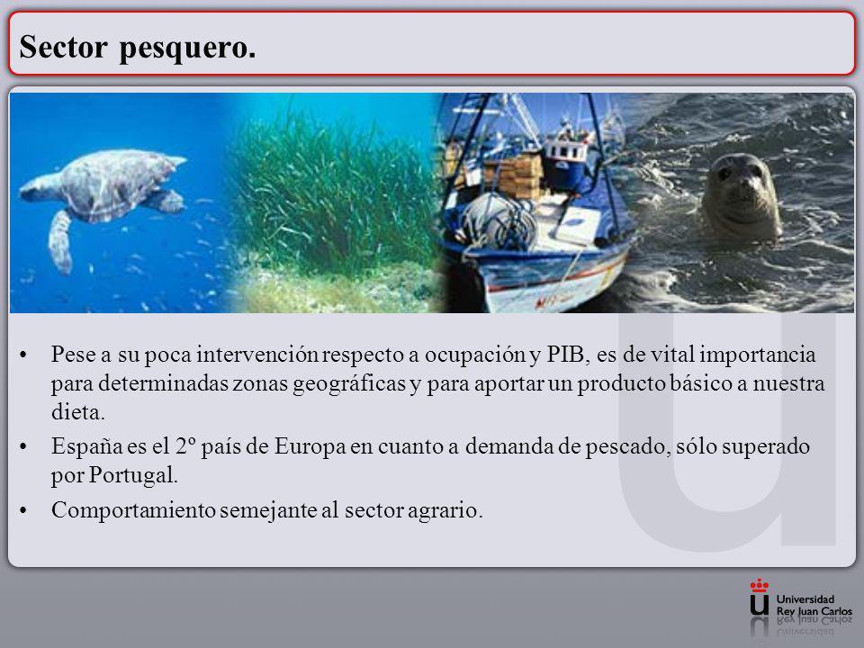 Sector pesquero.