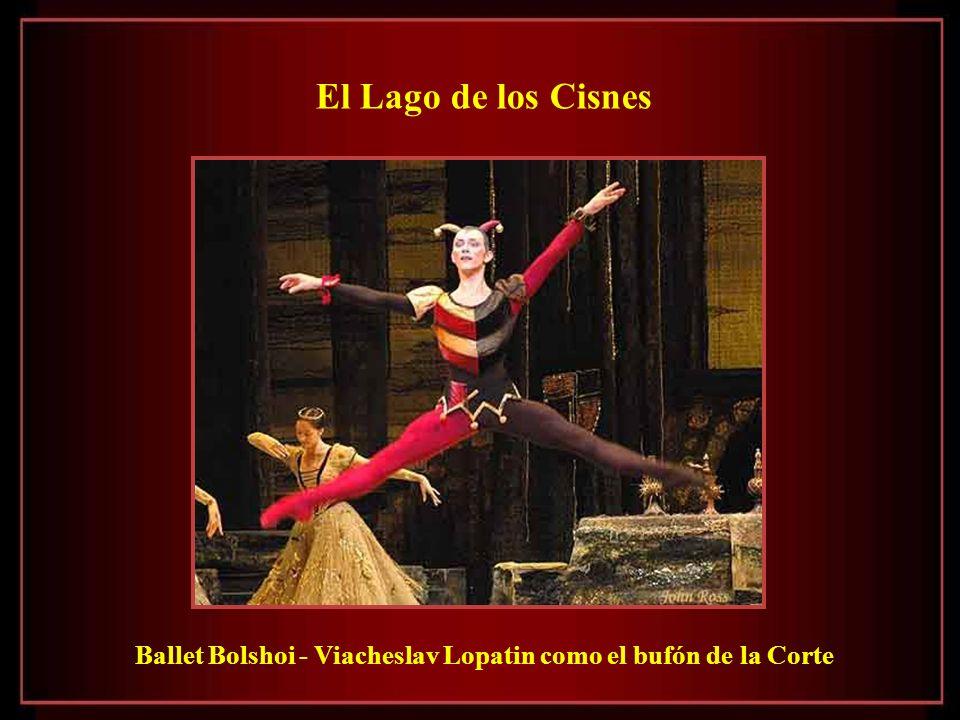 El Lago de los Cisnes Ballet Bolshoi - Viacheslav Lopatin como el bufón de la Corte