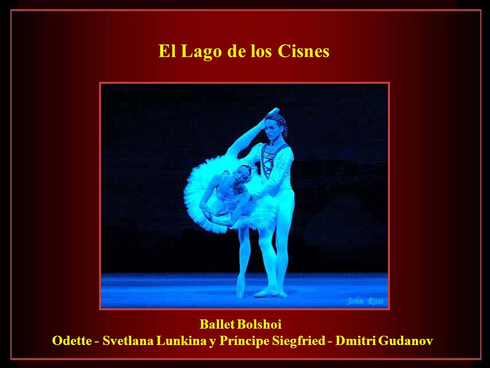 Odette - Svetlana Lunkina y Príncipe Siegfried - Dmitri Gudanov