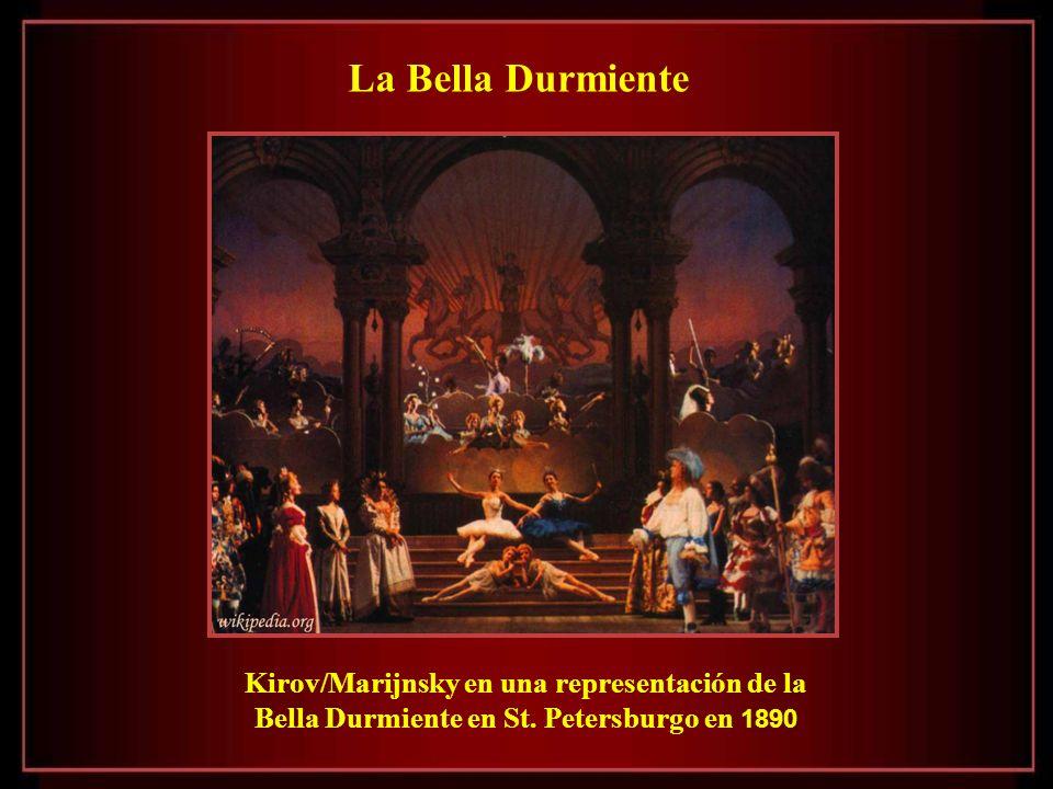 La Bella Durmiente Kirov/Marijnsky en una representación de la Bella Durmiente en St.
