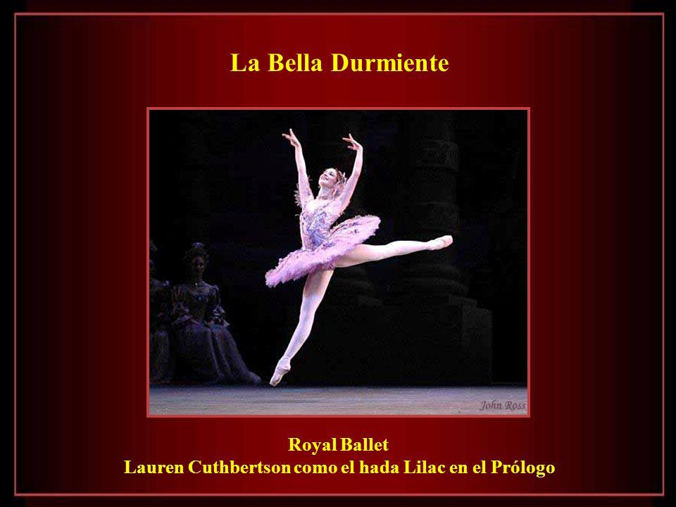 Lauren Cuthbertson como el hada Lilac en el Prólogo