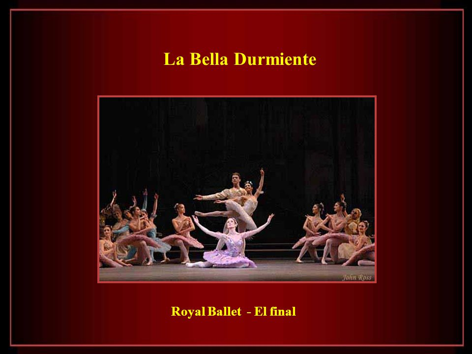 La Bella Durmiente Royal Ballet - El final
