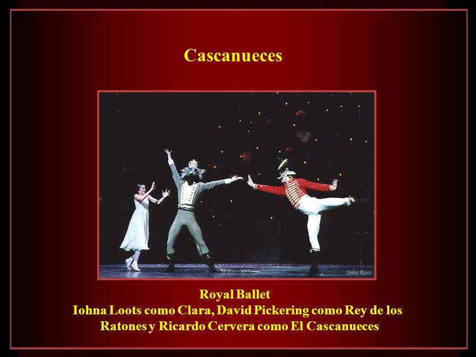 Cascanueces Royal Ballet