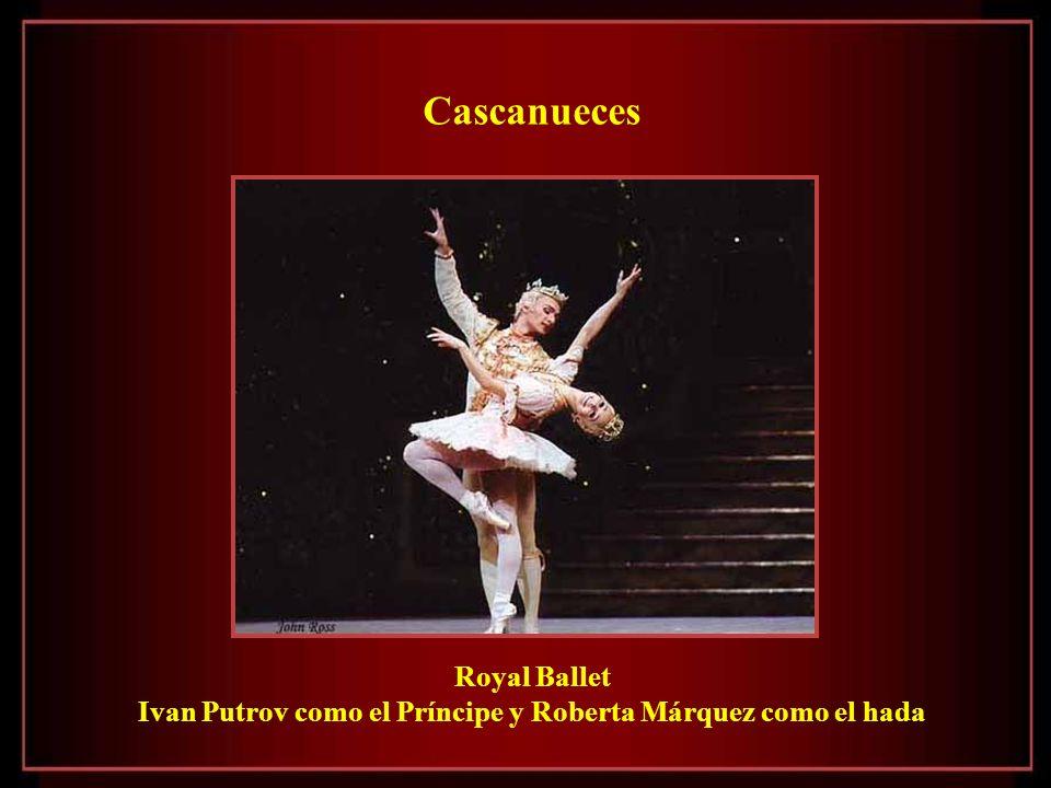 Ivan Putrov como el Príncipe y Roberta Márquez como el hada