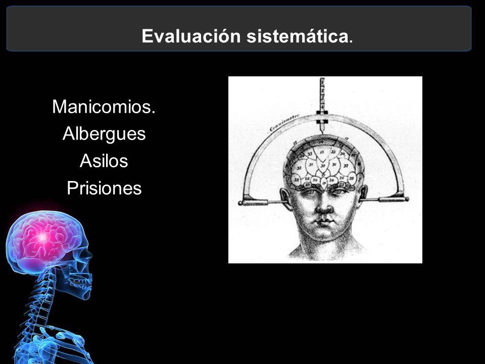 Evaluación sistemática.