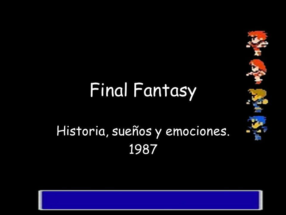 Historia, sueños y emociones. 1987