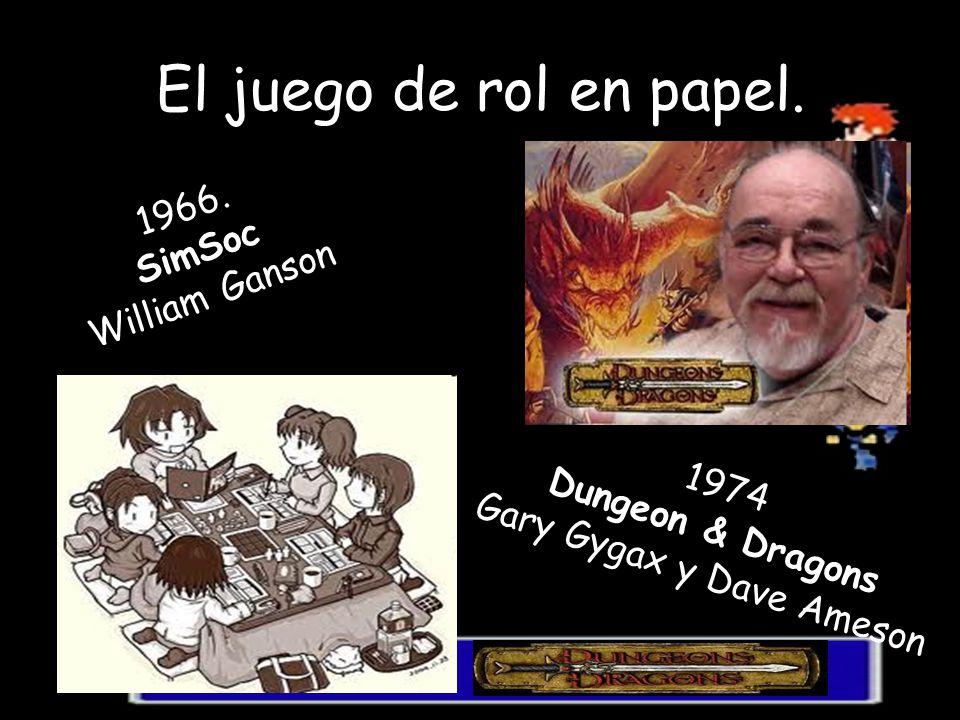 Gary Gygax y Dave Ameson