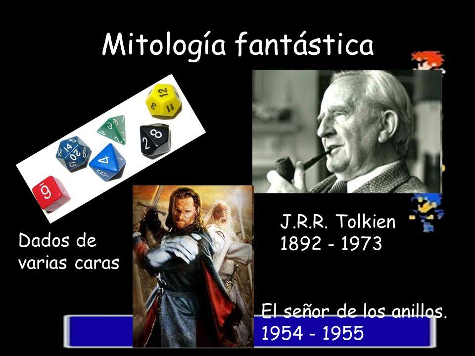 Mitología fantástica J.R.R. Tolkien 1892 - 1973 Dados de varias caras