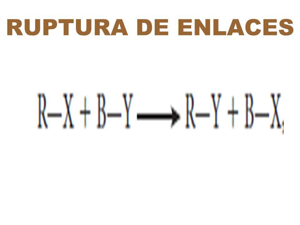 RUPTURA DE ENLACES