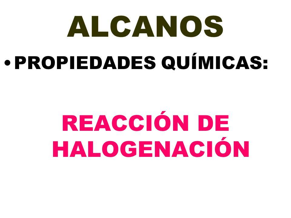 REACCIÓN DE HALOGENACIÓN