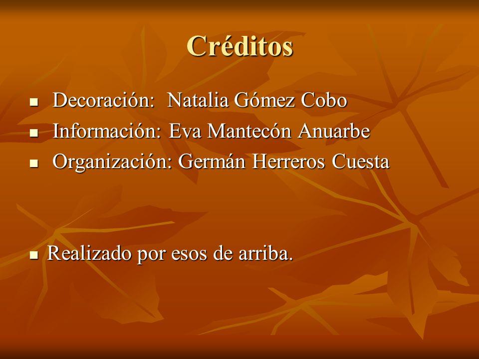 Créditos Decoración: Natalia Gómez Cobo