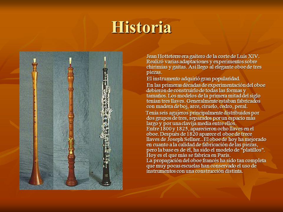 Historia El instrumento adquirió gran popularidad.