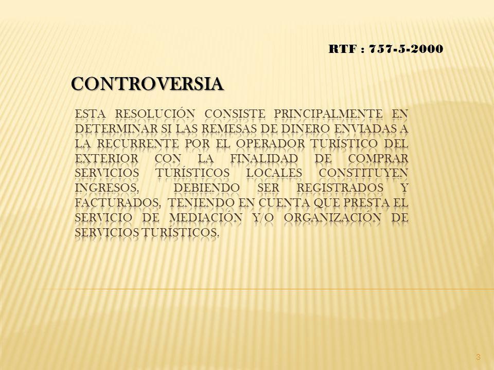 RTF : 757-5-2000 CONTROVERSIA.