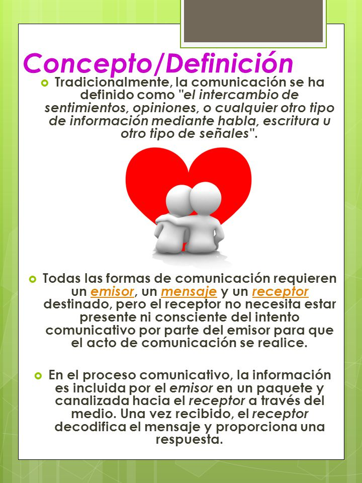 Concepto/Definición