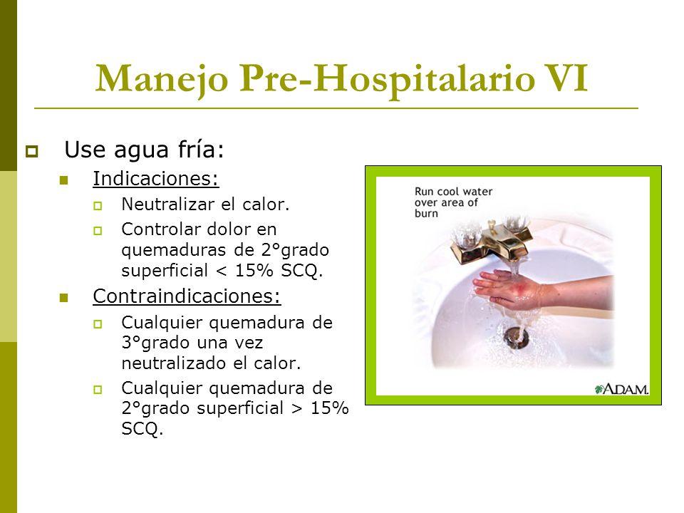 Manejo Pre-Hospitalario VI