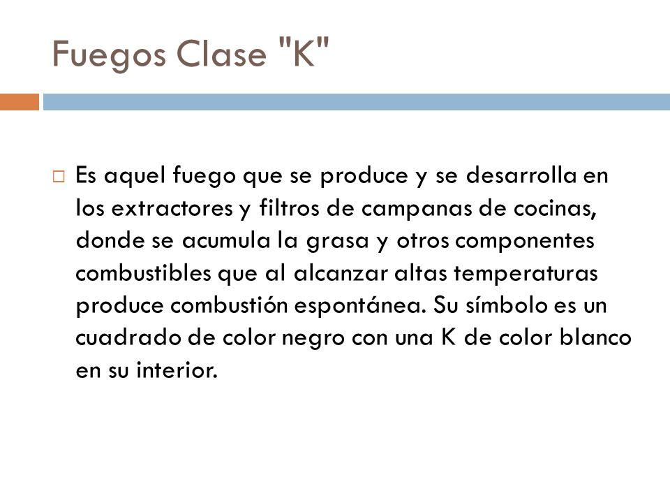 Fuegos Clase K