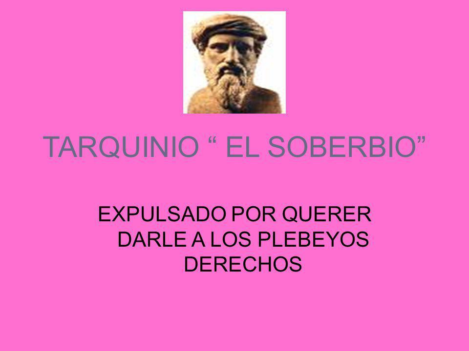 TARQUINIO EL SOBERBIO