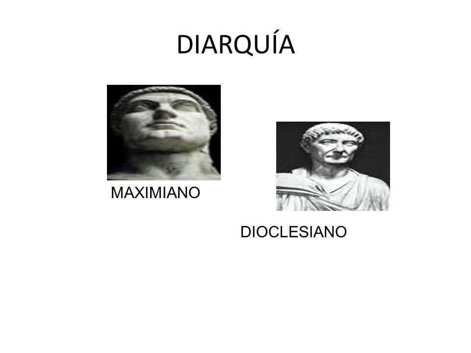 DIARQUÍA MAXIMIANO DIOCLESIANO