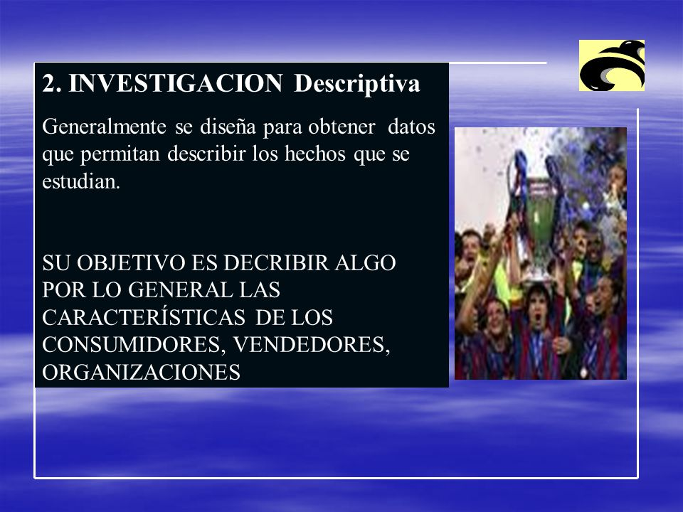 2. INVESTIGACION Descriptiva