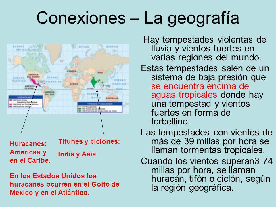 Conexiones – La geografía