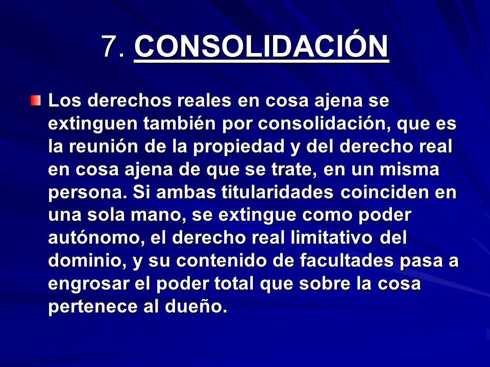 7. CONSOLIDACIÓN