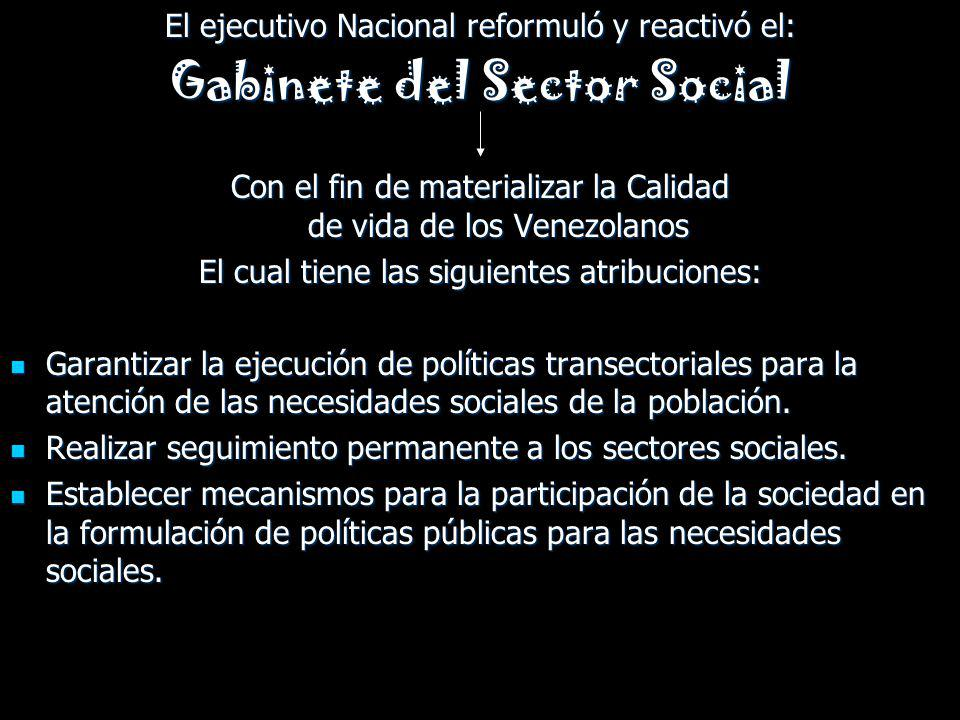 Gabinete del Sector Social