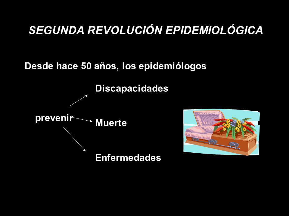 SEGUNDA REVOLUCIÓN EPIDEMIOLÓGICA