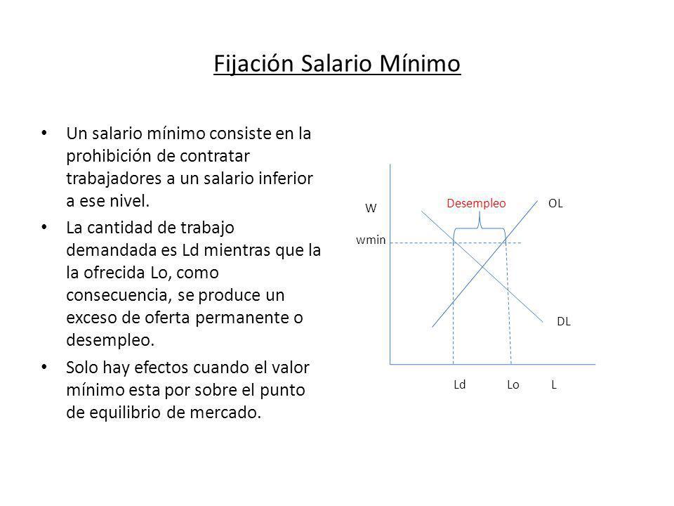 Fijación Salario Mínimo