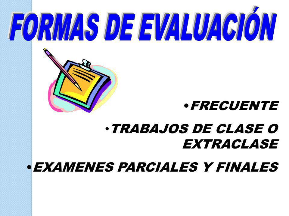 TRABAJOS DE CLASE O EXTRACLASE