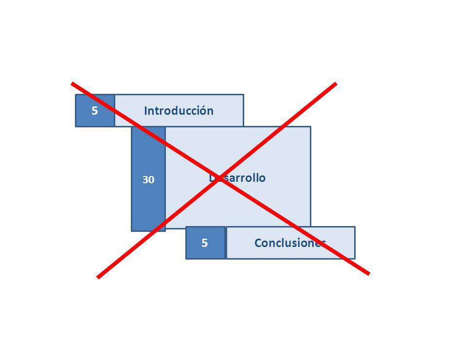 Introducción Desarrollo Conclusiones 5