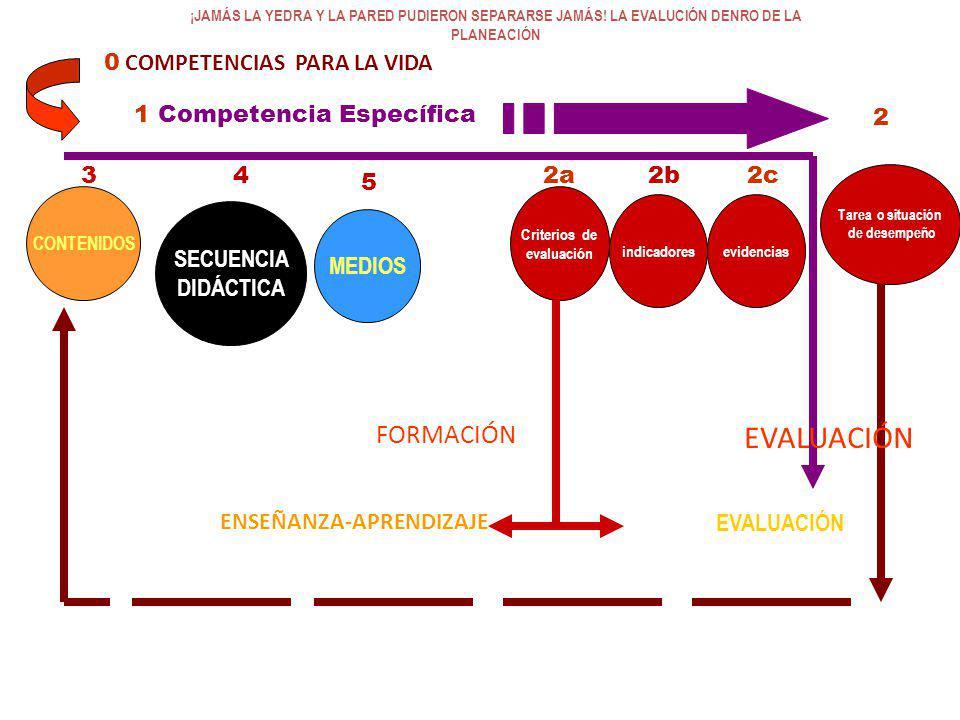 EVALUACIÓN FORMACIÓN 0 COMPETENCIAS PARA LA VIDA